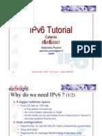 EUChinaGRID IPv6 Tutorial Cataniav2 1
