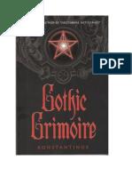 Konstantinos - Gothic Grimoire