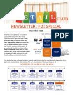 Retail Club Newsletter - FDI Special Dec 2011