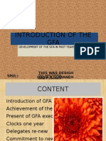 Introduction of the Gfa