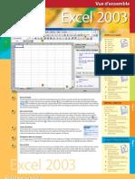 Excel 2003 - Référence rapide