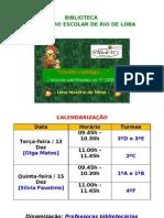 CALENDARIZAÇÃO - Sessões de Leitura em Rio de Loba (Natal)