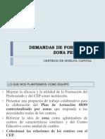 Demandas de Formación 08 09 zona periferia Huelva