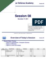 CDA Training Session 08 v01
