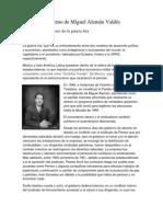 Gobierno de Miguel Alemán Valdés