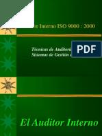 Auditor Interno ISO 9000