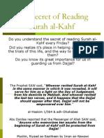 The Secret of Reading Surah Al-Kahf