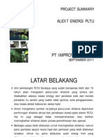 Audit Energi - PLTU