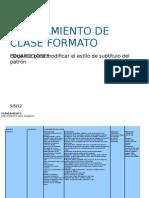 PLANEAMIENTO DE CLASE