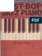 Post-Bop Jazz Piano
