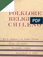 Folklore Religioso Chileno