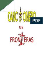Cancionero sin fronteras 2da Edición