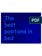 Best Positions in Bed