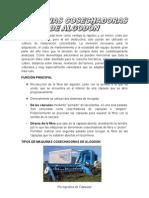 COSECAHDORA DE ALGODON