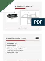 El Sensor GP2D120 Rev291110