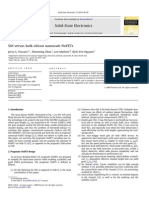 SSE 2010-SOI Versus Bulk-silicon Nanoscale FinFETs