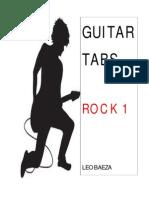 Guitar Tabs (Rock 1) Leo Baeza