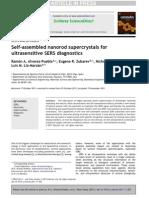 Ramón A. Alvarez-Puebla et al- Self-assembled nanorod supercrystals for ultrasensitive SERS diagnostics