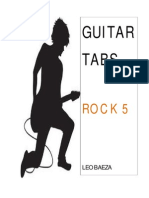 Guitar Tabs (Rock 5) Leo Baeza