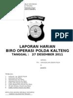 Laphar tgl  27 DESEMBER 2011