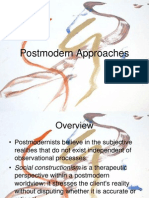 Postmodern counseling Approaches