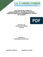 ESTUDIO GEOTECNICO CUAPANCINGO