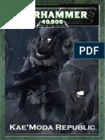 Codex- Kae'Moda Republic IV 0.72