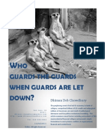 Who Guards the Guards When Guards are let down?