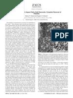 Bishnu P. Khanal and Eugene R. Zubarev- Purification of High Aspect Ratio Gold Nanorods