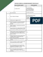 Medical Bills Formates 4-11-2011