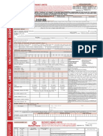 Muthoot Finance Limited NCD Application Form Dec 2011 - Jan 2012