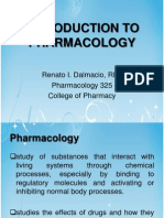 Prelims - Intro to Pharmacology
