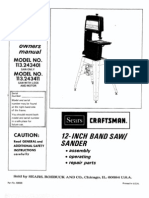 Band Saw Manual