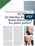 Entrevista Vicente Ferrer