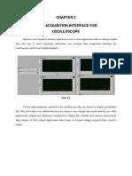 Data Acquisition Interface for Oscilloscope