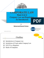 Week 11 & 12 Company Law