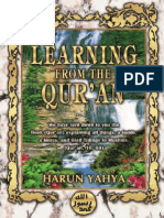 Learning From Quran