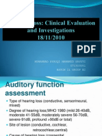 Hearing Loss Evaluation 18-11-10