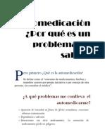 Automedicación