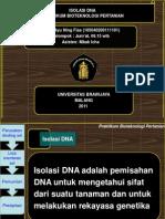 Ppt Isolasi DNA
