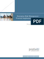Enterprise Risk Management - Practical Implementation Ideas