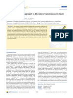N. Renaud, M. A. Ratner and C. Joachim- A Time-Dependent Approach to Electronic Transmission in Model Molecular Junctions