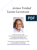 Lester Levenson - La Máxima Verdad