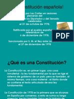 La constitución española!