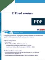 2. Fixed Wireless