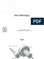 Gear Metrology