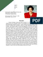 Biography of Cory Aquino