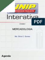 Slides UNIDADE I - Prof Silvia