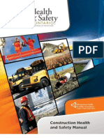 Construction Health and Safety Manual