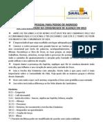 Vocacional Dez11 Novo Material Para Vocacionad8203os Da Cv e Cal 2012